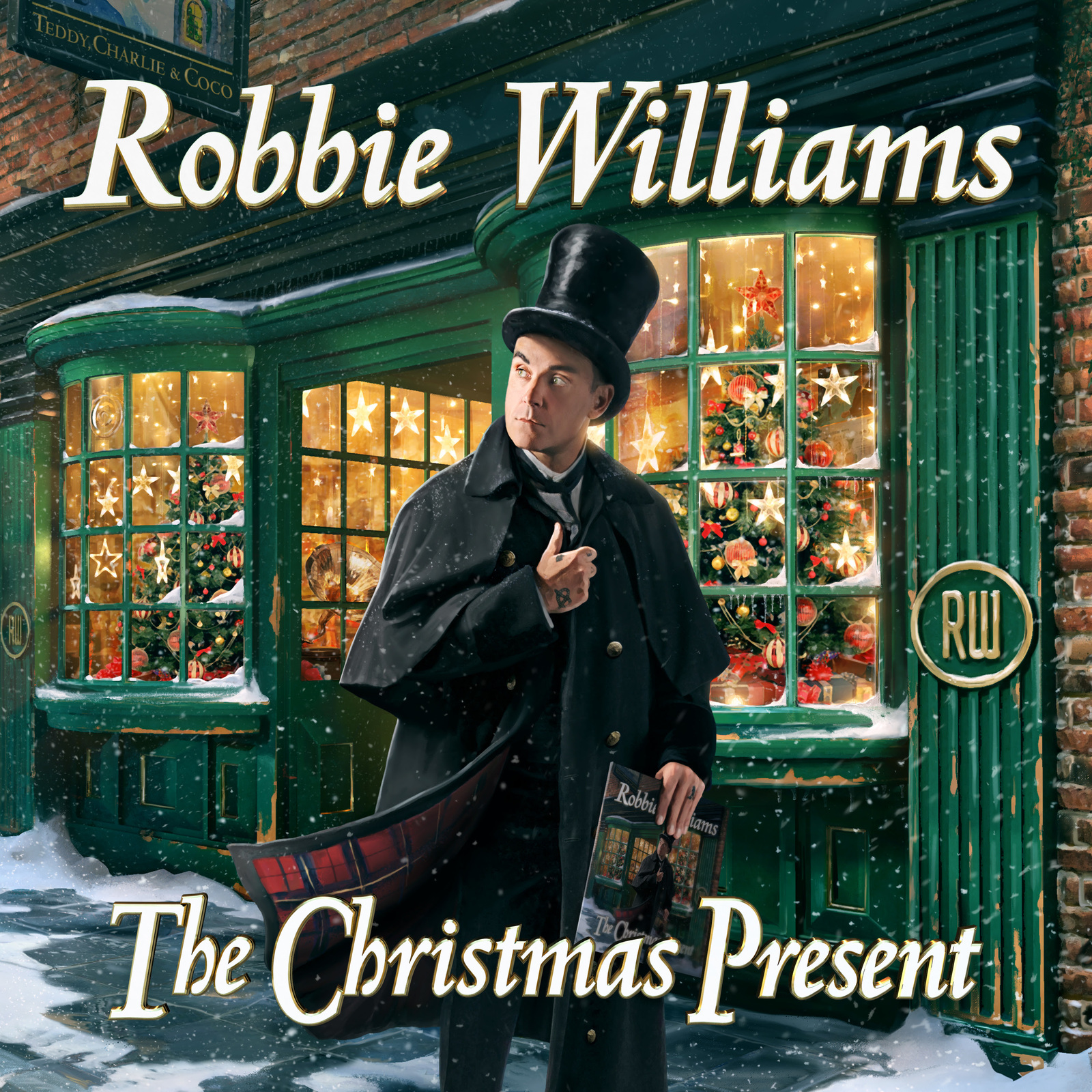 The Christmas Present by Robbie Williams image