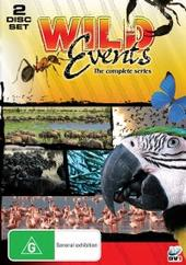 Wild Events - Complete TV Series (2 Disc Set) on DVD
