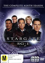 Stargate SG-1 - Season 9 (6 Disc Set) (New Packaging) on DVD