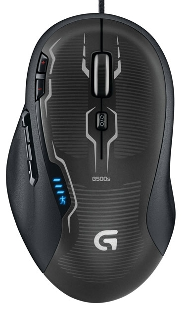 Logitech G500s FPS Laser Gaming Mouse for
