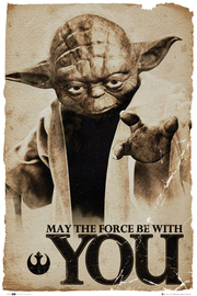 Star Wars Yoda Maxi Poster (200)