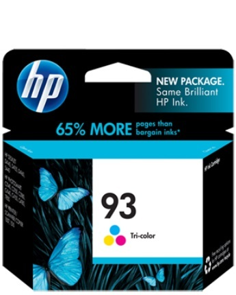 HP 93 Tri-Colour Ink Cartridge