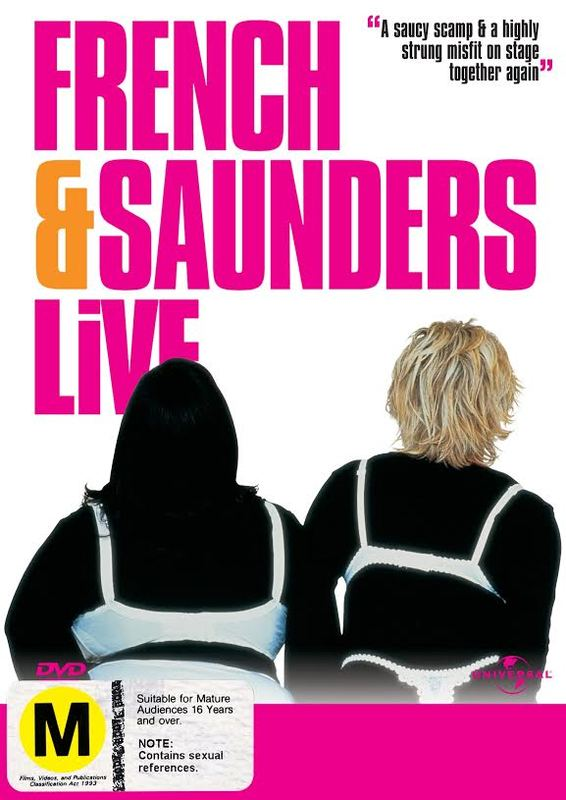 French & Saunders - Live on DVD