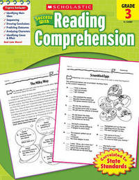 Scholastic Success with Reading Comprehension, Grade 3 by Robin Wolfe image