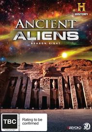 Ancient Aliens - Season 8 on DVD