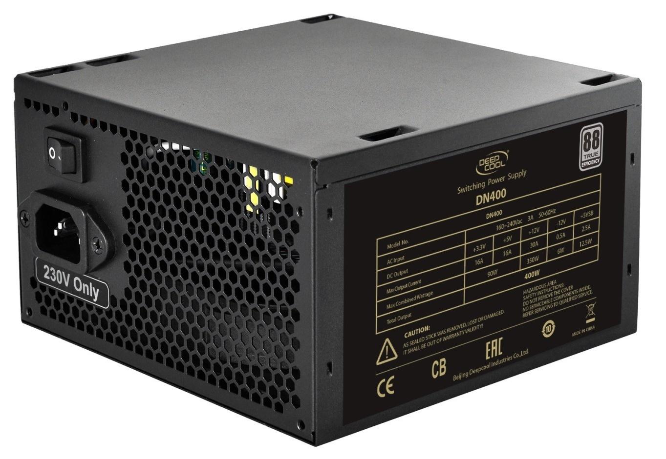 Deepcool 400w Psu 88 Efficiency Meps Compliant At Mighty Ape Nz Deep Cool Z5 Image