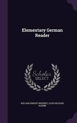 Elementary German Reader by William Dwight Whitney image