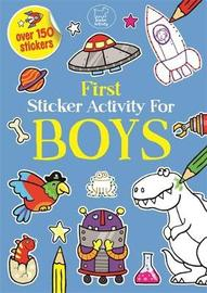 First Sticker Activity For Boys by Emily Golden Twomey