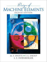 Design of Machine Elements by Lee E. Hornberger image
