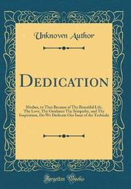 Dedication by Unknown Author image