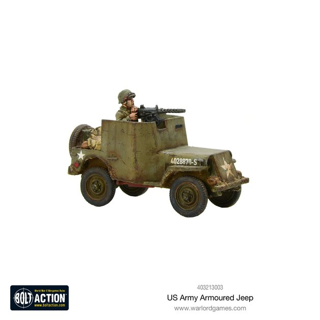 Bolt Action: US Armoured Jeep