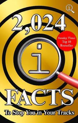 2,024 QI Facts To Stop You In Your Tracks by John Lloyd image