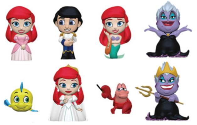 Disney: The Little Mermaid - Mini Vinyl Figure (Assorted Designs)