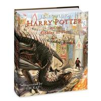 Harry Potter and the Goblet of Fire: The Illustrated Edition by J.K. Rowling image