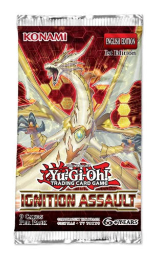 Yu-Gi-Oh! Ignition Assault Single Booster (9 Cards)