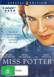 Miss Potter on DVD