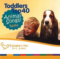 Toddlers Top 40 Animal Songs by Various Artists image