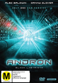 Andron - The Black Labyrinth on DVD