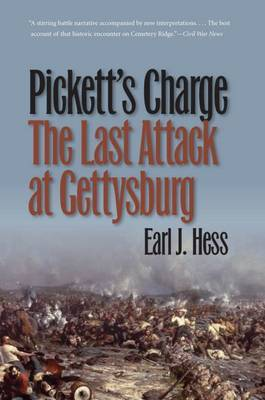 Pickett's Charge--The Last Attack at Gettysburg by Earl J Hess image