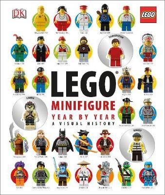 LEGO Minifigure Year by Year: a Visual History (incl 3 Minifigures!) by DK