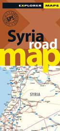 Syria Road Map by Explorer Publishing and Distribution image