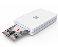 Lifeprint: 2x3 Portable Photo AND Video Printer for iPhone and Android - White