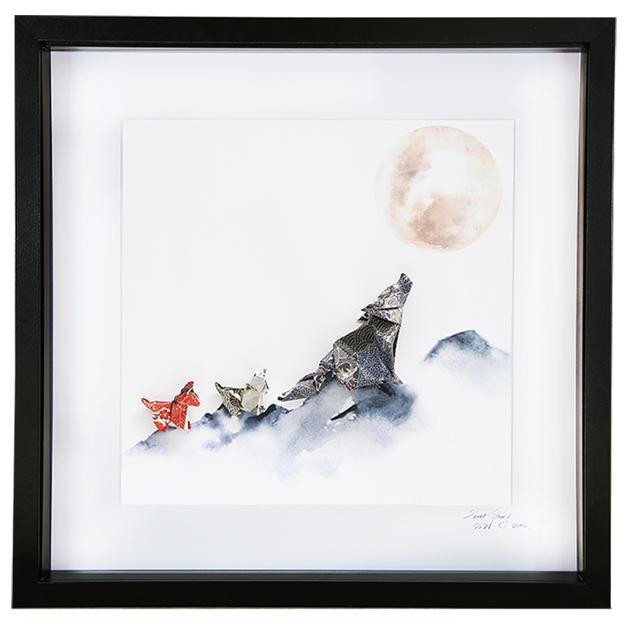 Wolf Pack Large Frame (Black)
