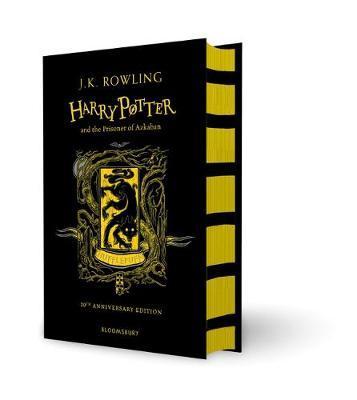 Harry Potter and the Prisoner of Azkaban – Hufflepuff Edition (Hardback) by J.K. Rowling image