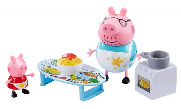 Peppa Pig: Peppa's Messy Kitchen - Playset