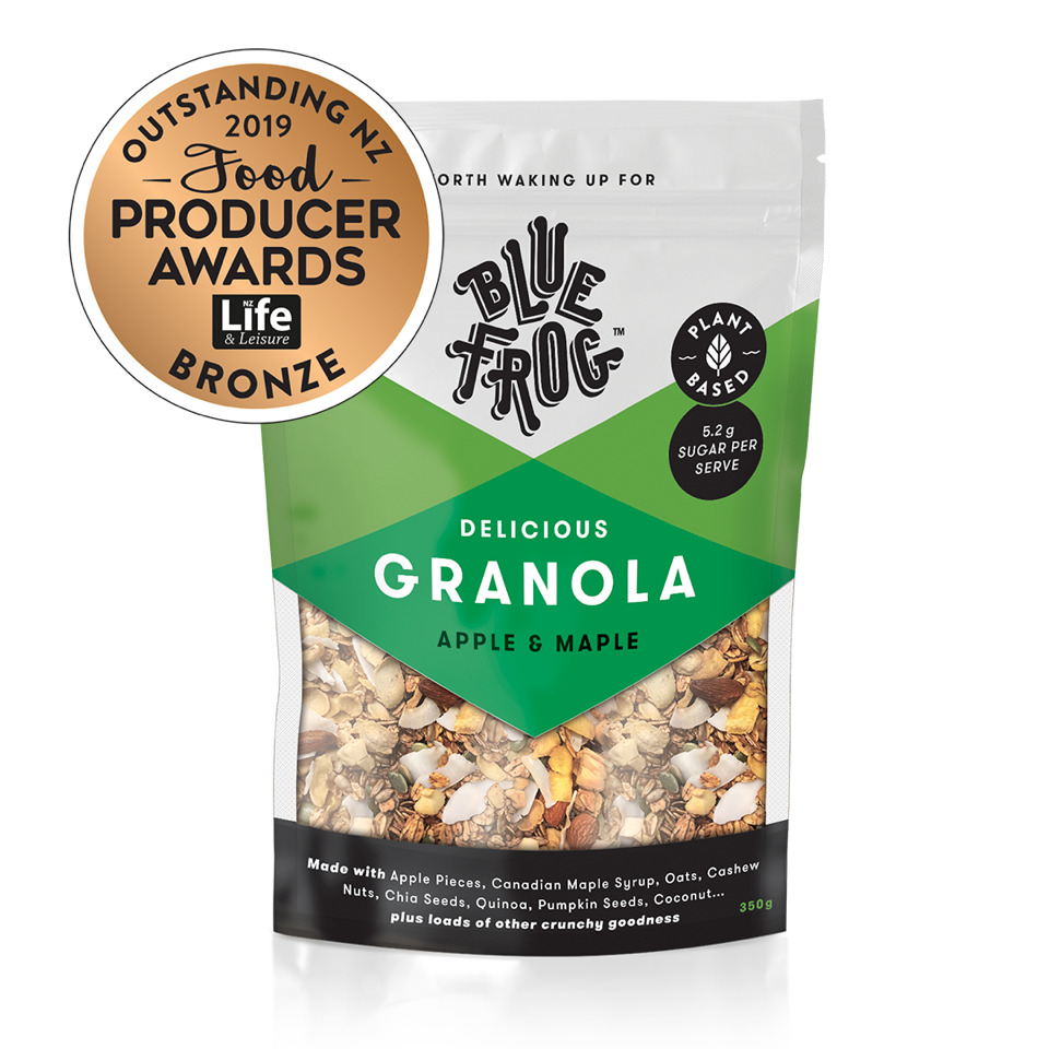 Blue Frog Granola - Apple and Maple (350g) image