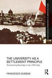 The University as a Settlement Principle by Francesco Zuddas