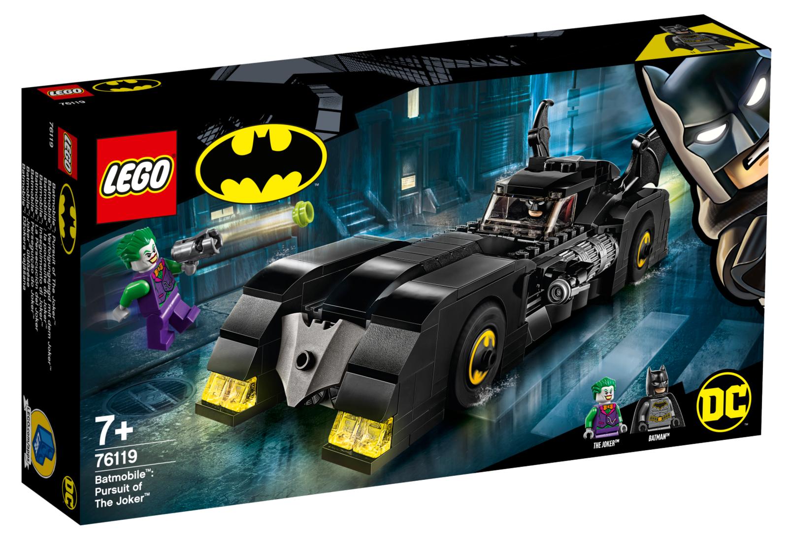 LEGO Super Heroes: Batmobile - Pursuit of The Joker (76119) image