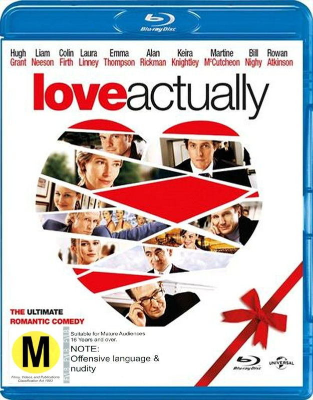 Love Actually on Blu-ray