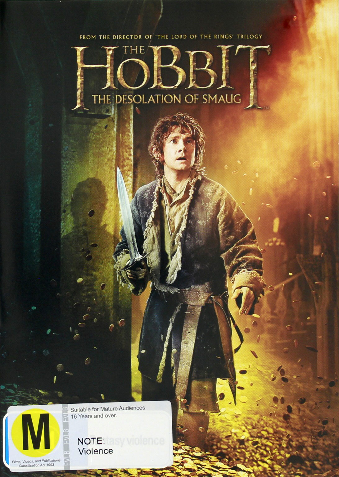 The Hobbit: The Desolation of Smaug on DVD image