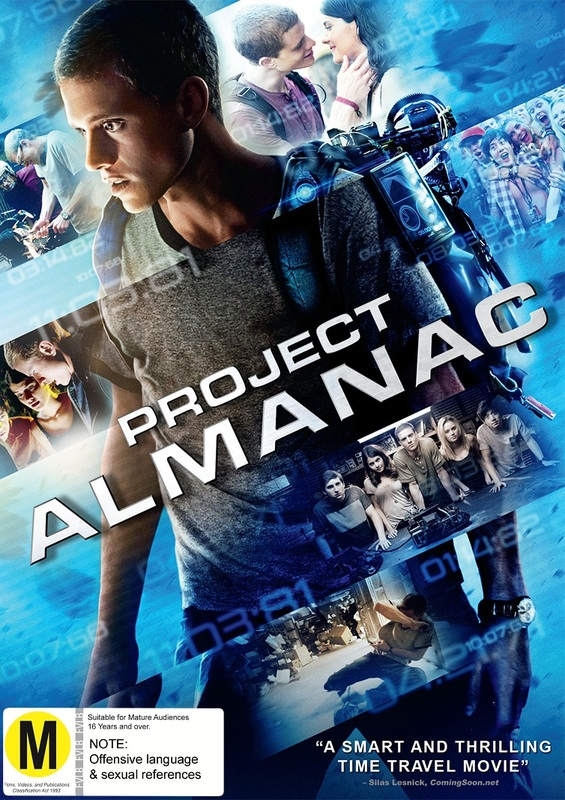 Project Almanac on DVD