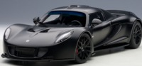 Autoart: 1/18 Hennessey Venom GT (Carbon Black)