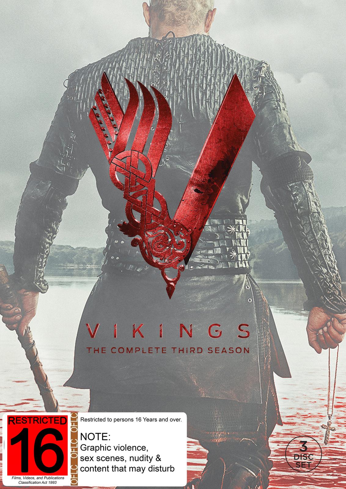 Vikings - The Complete Third Season on DVD image