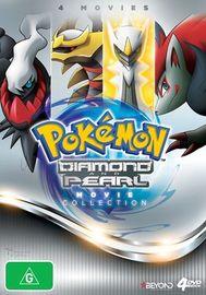 Pokemon Diamond & Pearl Movie Collection on DVD