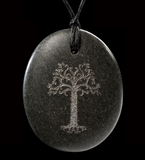 Lord of the Rings Stone Pendant by Weta - Gondor Tree