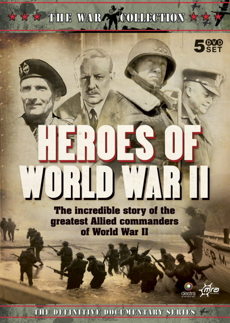 War Collection, The - Heroes Of World War II (5 Disc Box Set) on DVD image