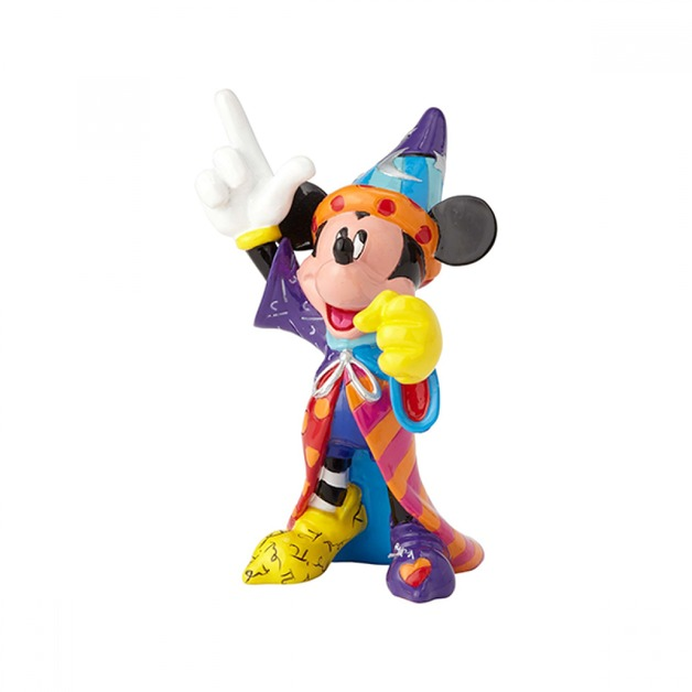 Romero Britto - Sorcerer Mickey Mini Figurine
