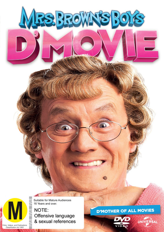 Mrs Brown's Boys D'Movie on DVD