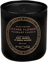 MOR Emporium Classics: Fragrant Soy Candle - Lychee Flower (390g)