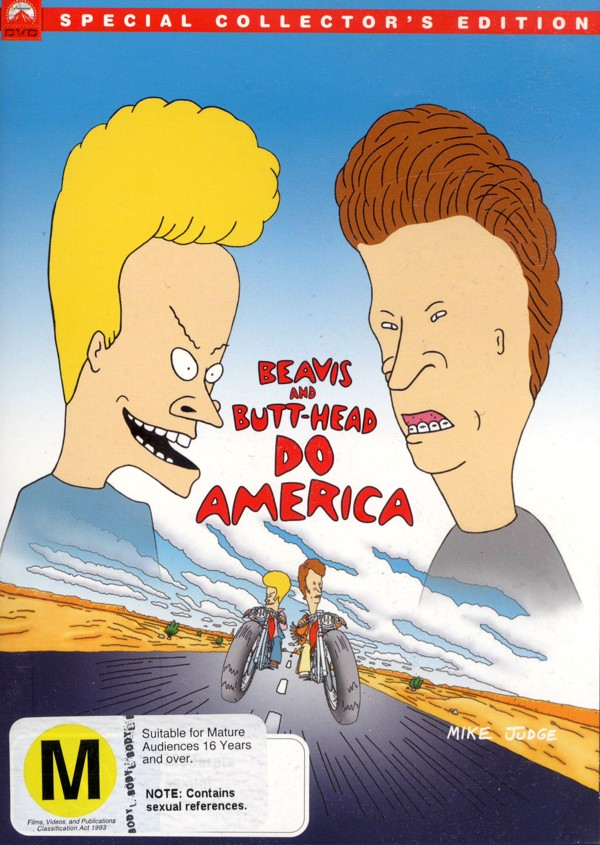Beavis And Butt-Head Do America - Special Collector's Edition on DVD image