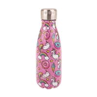 Oasis Stainless Steel Double Wall Insulated Drink Bottle - Unicorn (350ml)