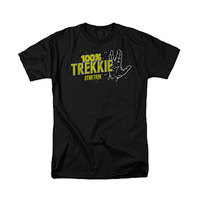 Star Trek: 100% Trekkie - Men's T-Shirt (Large)