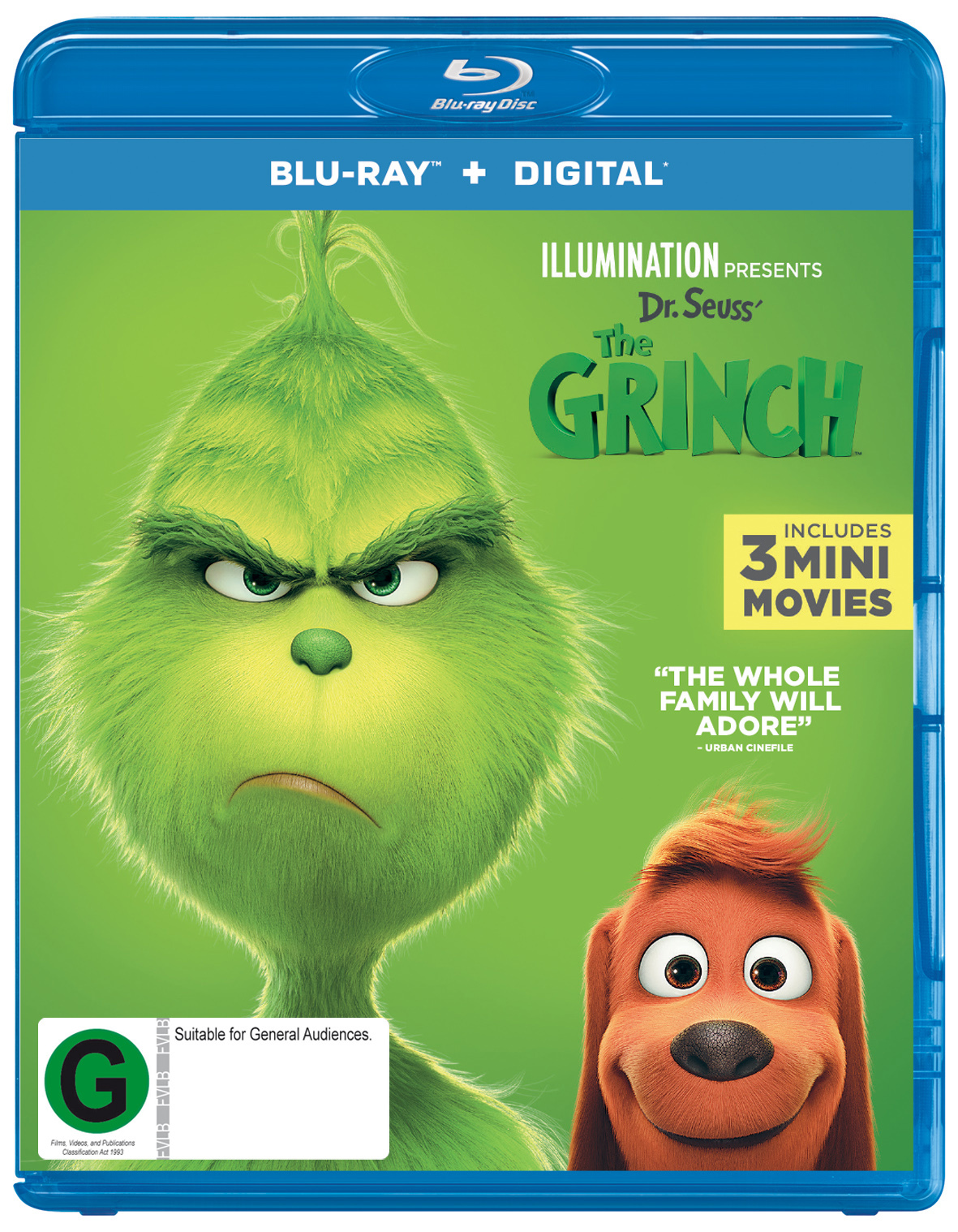 The Grinch on Blu-ray image