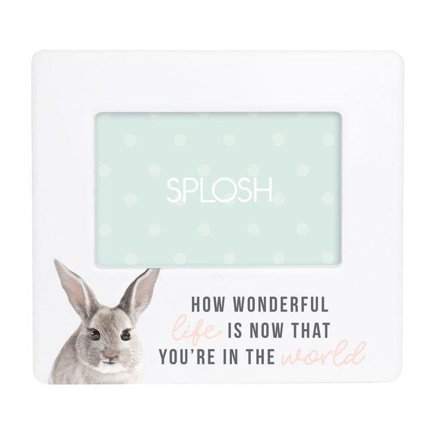 Splosh: Baby Frame - Bunny