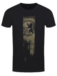 Game of Thrones: Lannister Flag - Hear Me Roar T Shirt (S)