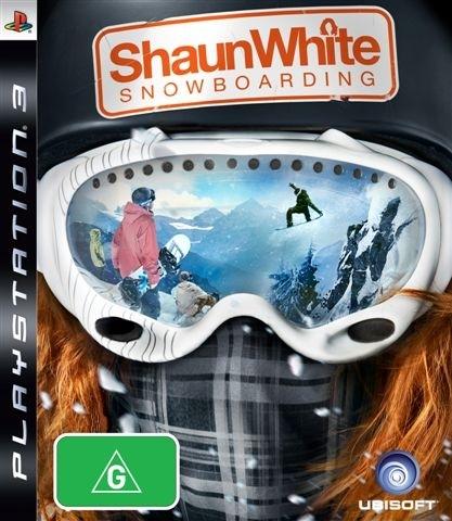 Shaun White Snowboarding for PS3